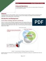 u03a1 Analysis of Strategy and Operations - 20110327 - By Anil Baddi