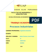 Trabajo Procesos Industriales