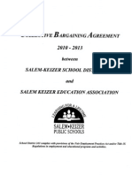 Licensed Collective Bargaining Agreement