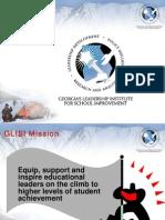 Presentations-Georgias Leadership Institute for School Improvement 120506