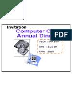 Invitation Computer Club