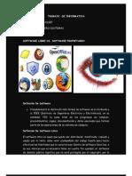 ENSAYO Software libre vs software propietario
