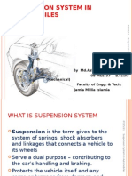 Suspension System in Automobiles