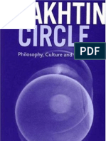 Bakhtin Circle Philosophy Culture and Politics