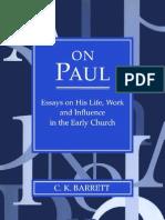 Barrett on Paul