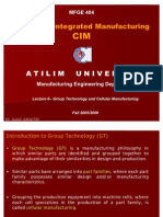 Group Technology and Cellular Manufacturing-I