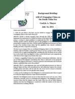 Thayer ASEAN Engaging China on the South China Sea