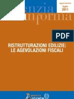 agenzia delle entrate - guida alle ristrutturazioni edilizie - agg luglio 2011