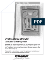 Prefix Stereo Blender User Guide