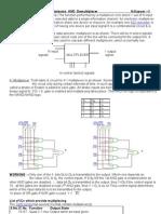 16-1 Mux Using 8-1 Mux, 4-1mux , And 2-1 Mux | Electronics