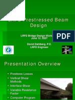 05 Pre Stressed Beam Design