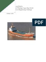 Designing Model Cargo Ships