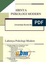 Pb8mat_xi Lahirnya Psikologi Modern