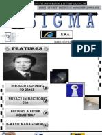 Sigma - Jan 2011 Issue