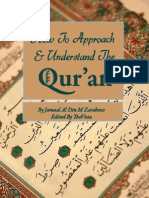 How to Approach and Understand the Qur An