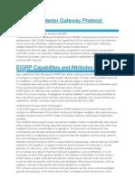 EIGRP Overview