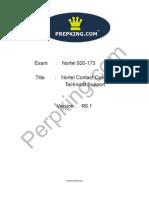 Prepking 920-173 Exam Questions