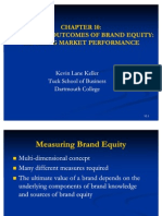 Chapter 10 Measuring Outcomes of Brand Equity Capturing Market Performance