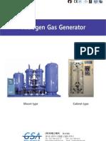 GSA Nitrogen Gas Generator Catalog