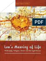 Law's Meaning of Life by Ngaire Naffine