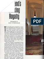 Thailand's working Royalty on National Geographic 1982