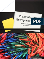 Creativity and Entrepreneurship