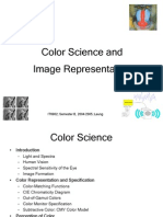 Color Science and Image Representation