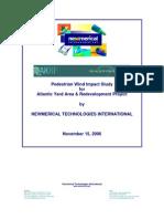 Atlantic Yards Wind Study, November 15, 2006