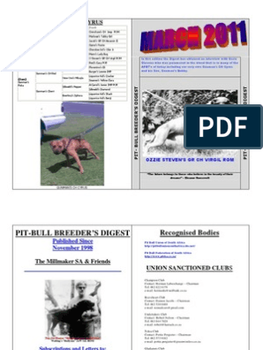 Digest - 2011march | Referee | Dogs