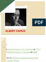 Albert Camus Diapositivas