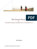 The General Theory of Sustainable transport, Sustainable cities & Sustainable Lives