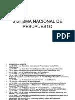 Sistema Nacional de Pesupuesto