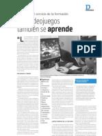 Con videojuegos también se aprende - El Mercurio de Valparaíso - 13.06.2010