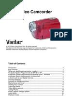 DVR 508 Camera Manual