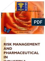 Risk Management in the Industry