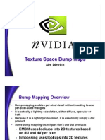 Texture Space Bump Mapping