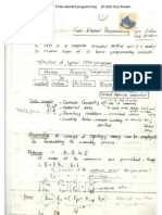 Finite Element Programming - Hani Aziz Ameen