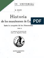 Historia de los musulmanes de España Tomo 2