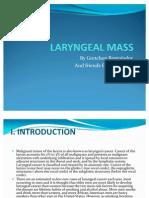 Laryngeal Mass