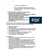 Trends in Nursing Education 5 25