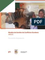 BOL Modelo de Gestion de Conflictos Escolares