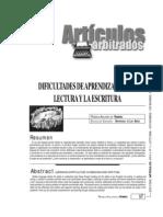 Dificultades Aprendizaje Lectura Escritura Aguirre