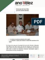 15-07-11 Intensa gira de Cano Vélez por SLRC