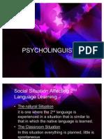 Psycho Linguistic