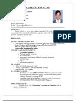 Chandrahash Sahoo Resume