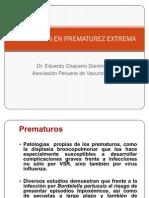 Vacunas en El Prematuro