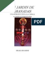 Israel Regardie Un Jardin de Granadas