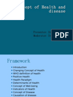 Concept of Health and Disease-posted