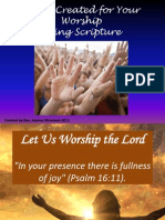 Let Us Worship the Lord Slides for Church