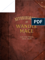Autobiography of Wandle Mace
